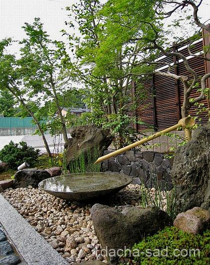 японский сад на даче фото (2)