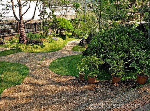 японский сад на даче фото (6)