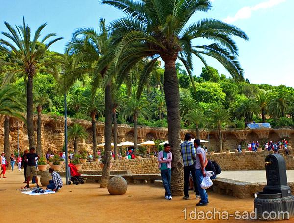 парк гуэль барселона фото (2)
