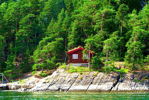 Дома в скандинавском стиле - норвежские дома 11