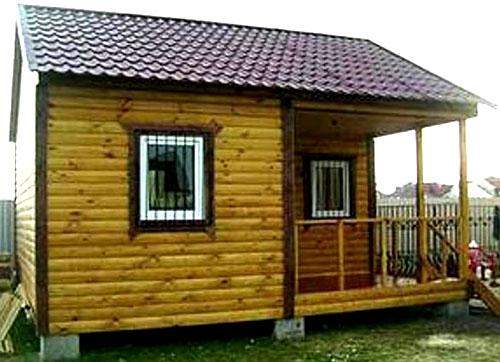 простенький дачный домик 5