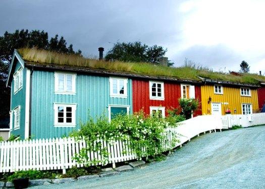 Дома в скандинавском стиле - норвежские дома 5
