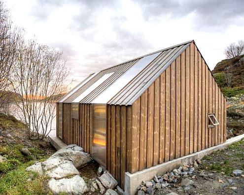 Дома в скандинавском стиле - норвежские дома 9