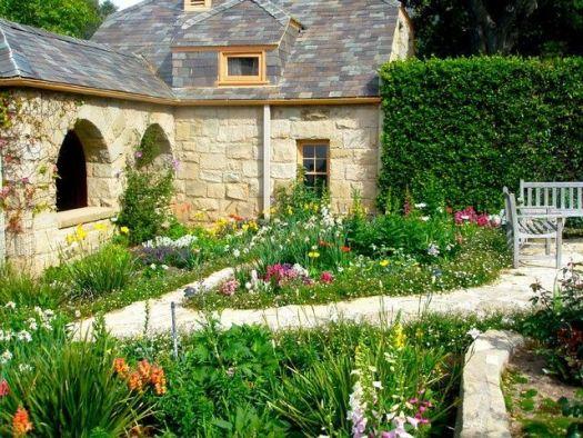 Красивый английский сад