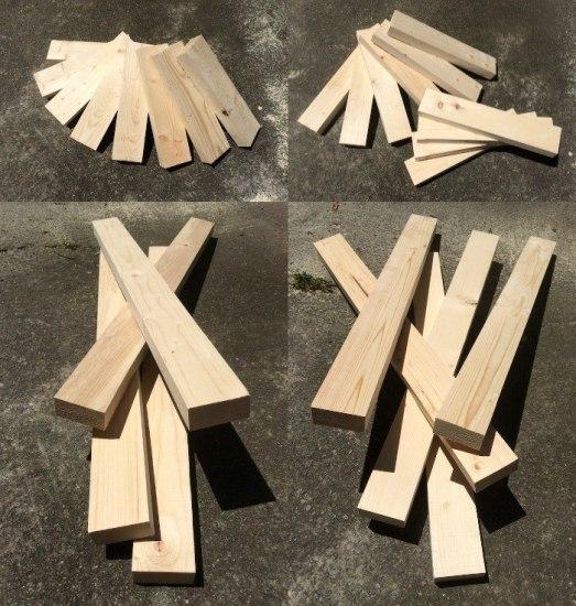 Строим скамейку для дачи из дерева своими руками