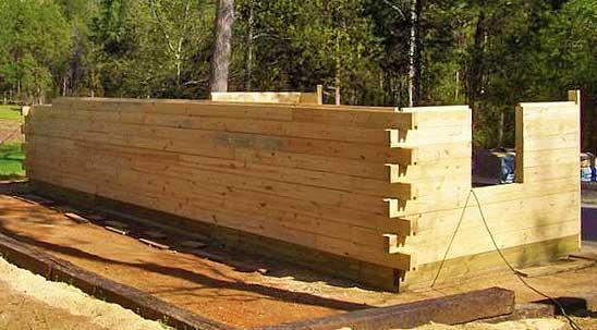 Такой технологии строительства стен дома вы еще не видели