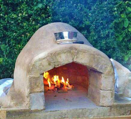 Печь для пиццы на дровах — идея для летнего пикника