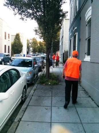 PSA 104 Orange Hat Walk 090714