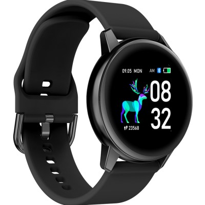 HIFUTURE-smartwatch-HiMATE-1.434-IP68-heart-rate-monitor-μαύρο
