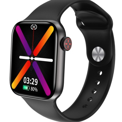 HIFUTURE-smartwatch-HiTIME-1.7534-IP68-heart-rate-monitor-μαύρο