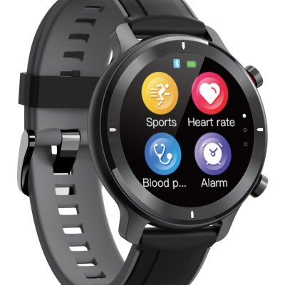 HIFUTURE-smartwatch-HiWAVE-1.334-IP68-heart-rate-monitor-μαύρο