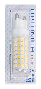 OPTONICA-LED-λάμπα-1645-6W-4500K-G9-550lm-dimmable-1