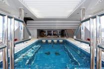 Superyacht TITANIA - Upper Deck Jacuzzi 2