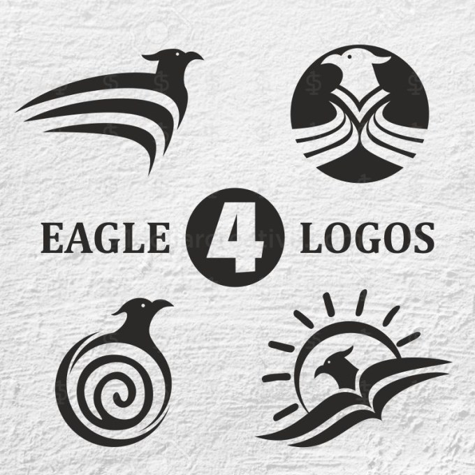 04 PROFESSIONAL AND PREMIUM EAGLE LOGOS