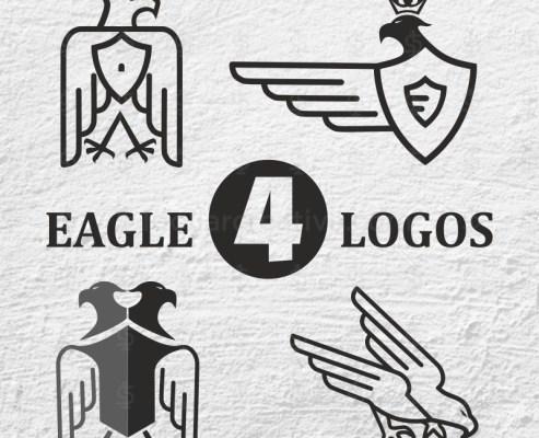 04 Royal and Original Eagle Logo Designs