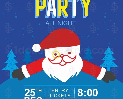 Christmas party invites-16