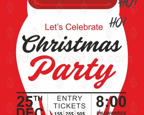 Christmas party invites-4