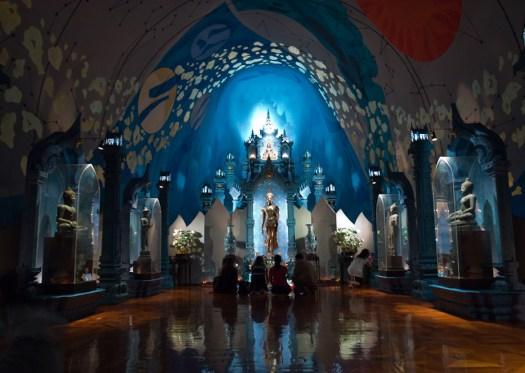 Erawan Shrine - Inside