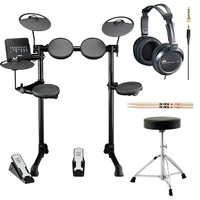 What are the Top 10 Electronic Drum Sets of 2018  Yamaha DTX Series DTX400K 10 Inch Electronic Drum Set