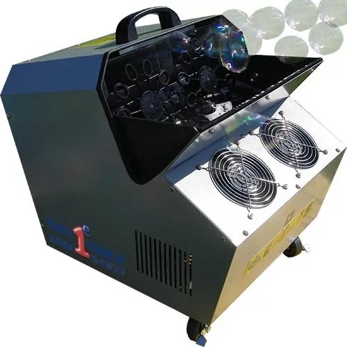 Dubbele bellenblaasapparaat voor een hoge output aan belletjes