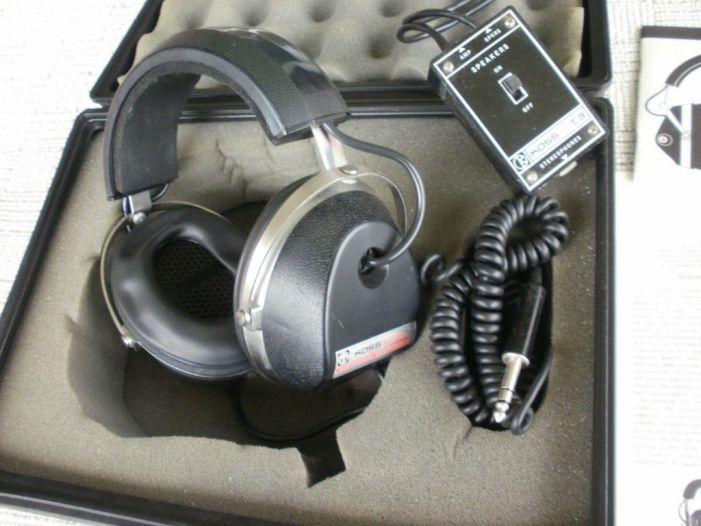 Koss ESP 6 Vintage Electrostatic Headphones RARE on PopScreen