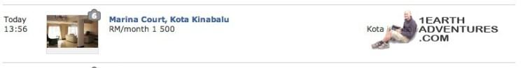 Scam listing on Mudah.com.my