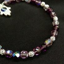 Sparkly Amethyst Bracelet