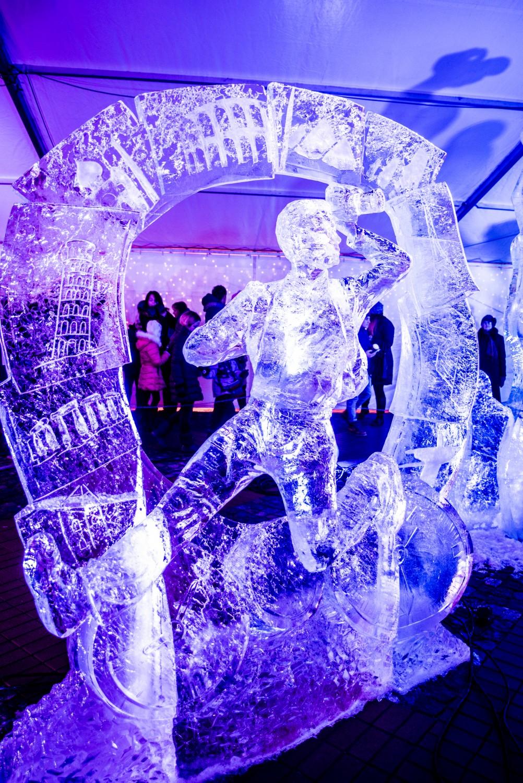 KV1_5896 18. Starptautiskais Ledus skulptūru festivāls Jelgavā