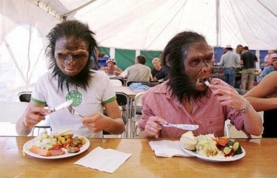 Ape men.