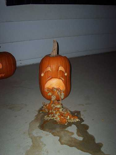 Puking Pumpkins 2 25 Pics