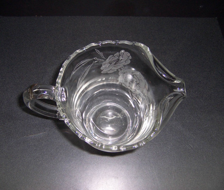 Triple A Resale Fostoria Etched Glass Pitcher