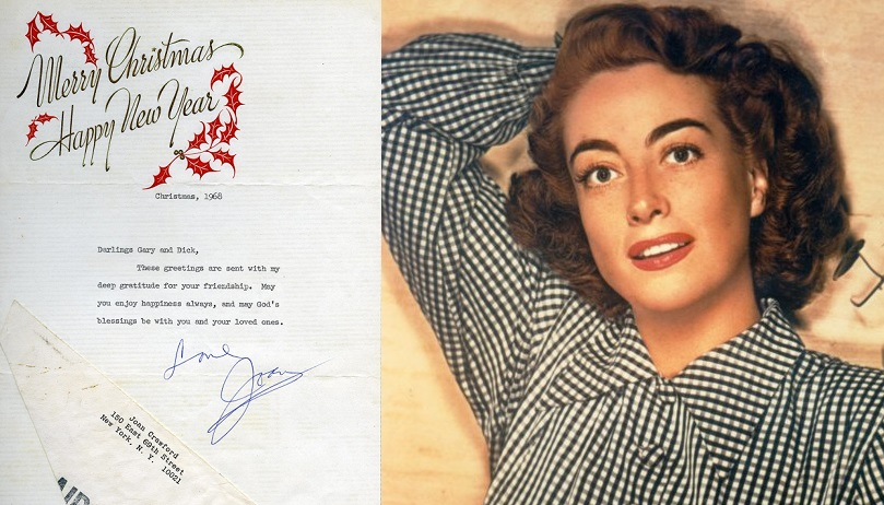 Old Hollywood Movie Stars Amp Their Holiday Greeting Cards
