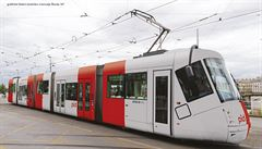 Buses, trams, suburban trains and metro sets connected to the Prague ...
