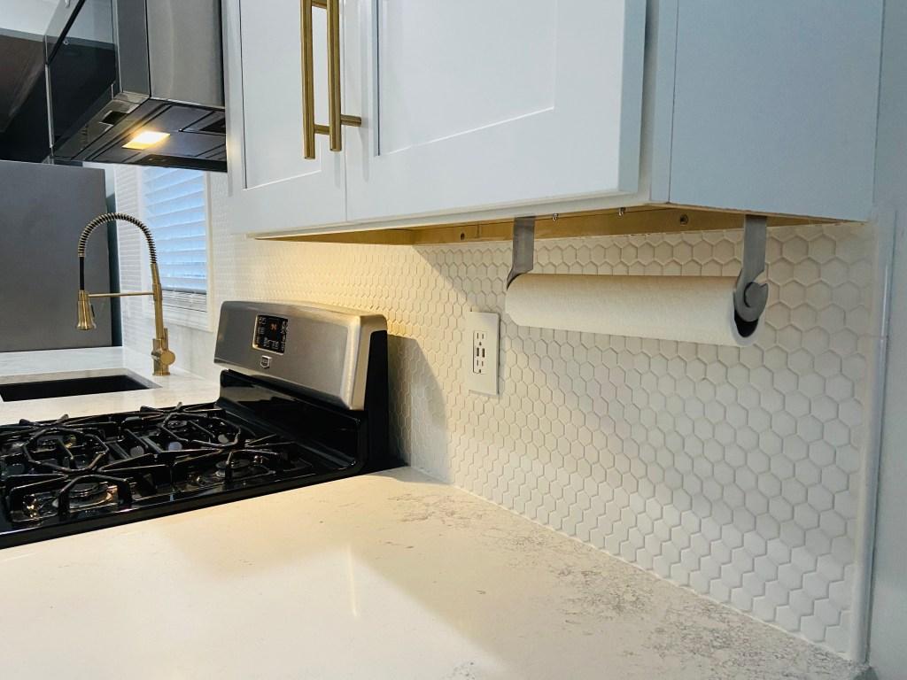penny tile backsplash 1 great space