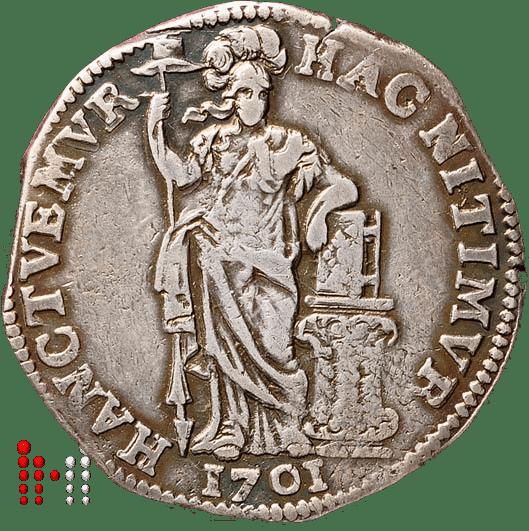Gulden Utrecht 1701