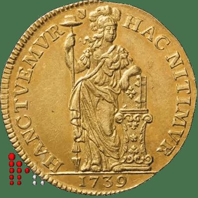 Gulden Utrecht 1739