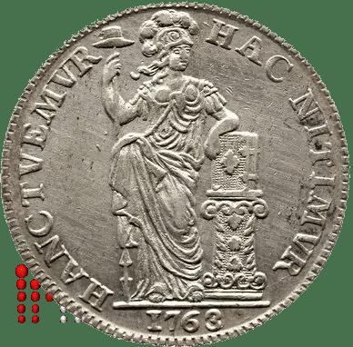 Gulden 1763 Holland