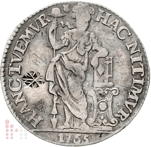Gulden utrecht 1765