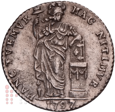 Gulden 1797 Holland