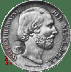 18702 1/2 gulden klop Azoren