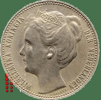 1898 Gulden Wilhelmina