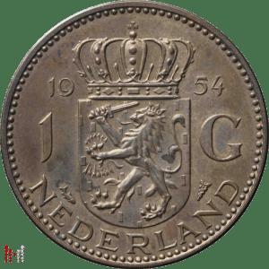 1954 Gulden Brons