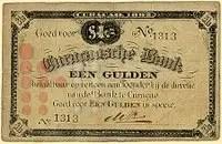 1892 Gulden Curacao