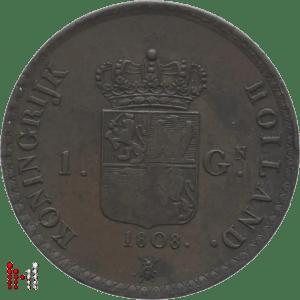 1818 gulden brons