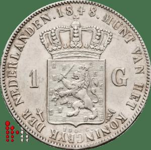 1848 gulden positiestreepje