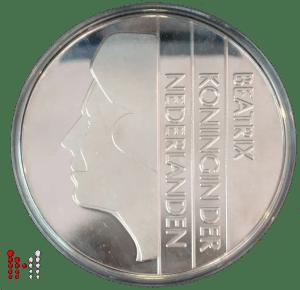 2001 MAXI gulden nikkel