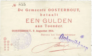 1914 Gulden Oosterhout