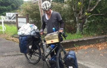自転車で世界一周してきたトモさん