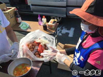 熊本地震ボランティア2日目炊き出し