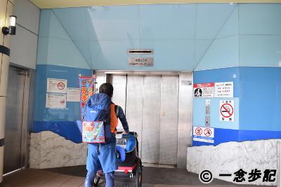 関門トンネル人道入り口